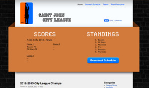 saint john city league website