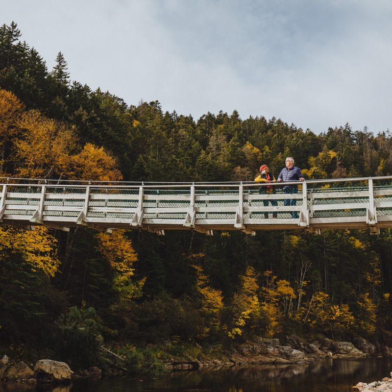 Walking bridge New Brunswick